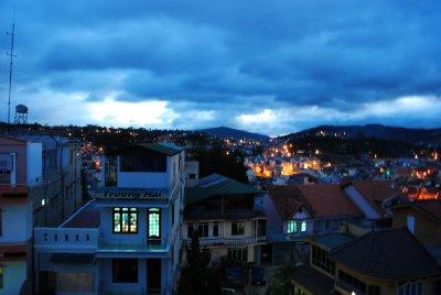 Dalat at night