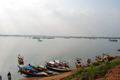 Boats at Kratie