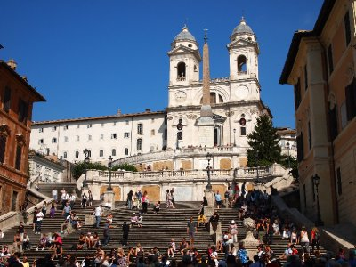The Spanish Steps - Rome.