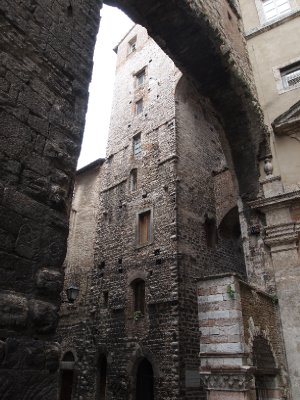 Six hundred years old and eight stories high - Perugia.