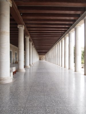 The Stoa of Attalos - Athens.