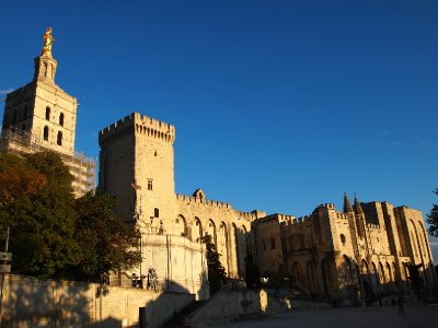 The Palace of the Popes - Avignon.