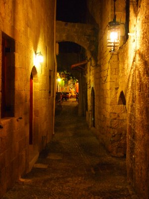 Timeless alleyway - Rhodos.
