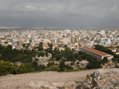 Expansive Athens - population 9 million.