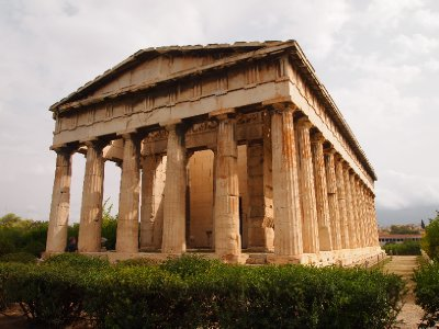 Temple of Hephaestos - Athens.