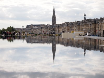 Bordeaux reflections.