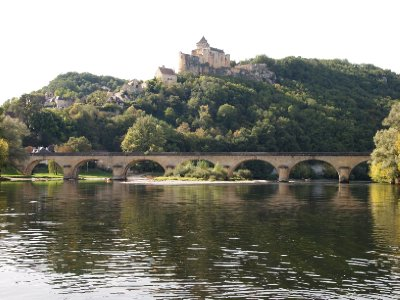 Dordogne River view.