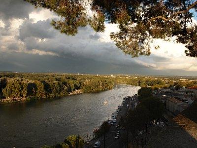 Rhone River - Avignon.