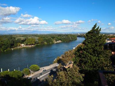 Rhone River - Lyon.