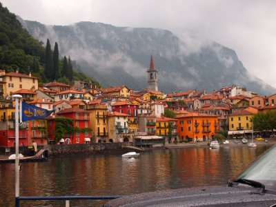 Colourful Varenna - Lake Como.