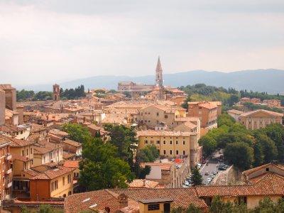 Perugia skyline.