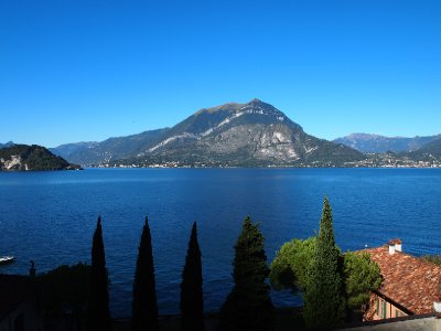 View from our apartment - Varenna.