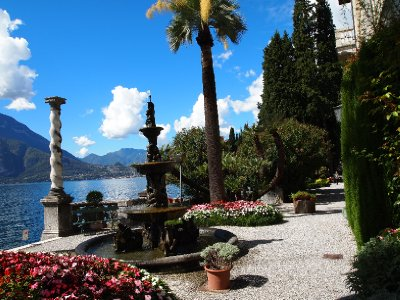 Gardens of the Villa Monastero.