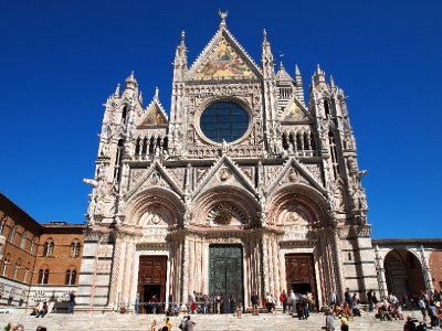 Duomo, Siena - 200 years in the making.