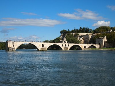 Pont D'Avignon - a bridge never completed.