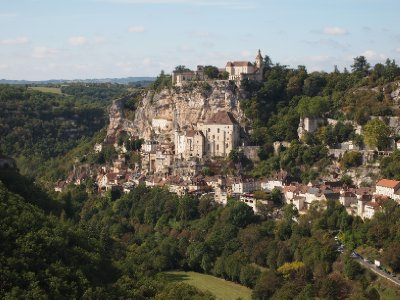 The Village of Rocamadour.