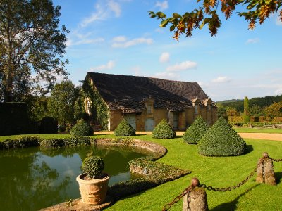 The Gardens of the D'Eyrignac Manor.