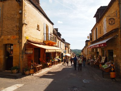 Bastide village of Domme.