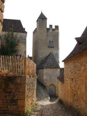Beynac's Chateau.