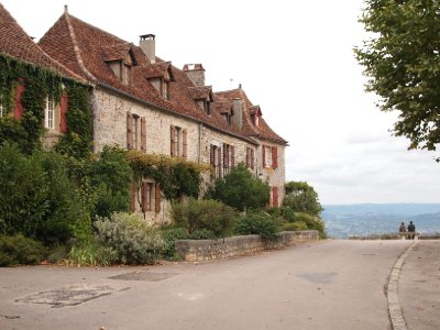 Loubressac - Southern France.