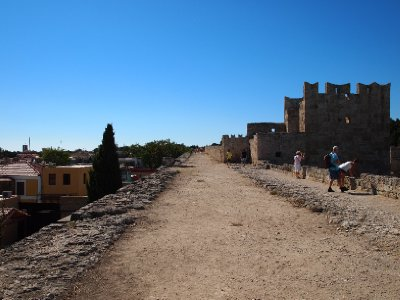 A Walk on the Walls - Rhodos Old Town.