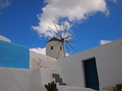 Santorini Windmill.