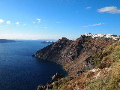 Santorini Caldera.