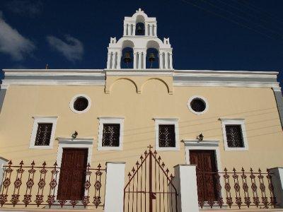 Church bells of Santorini.