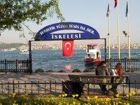 Promenade on the Bosphorus River.