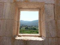 A window in the Politarium at Patara - a natural picture frame.
