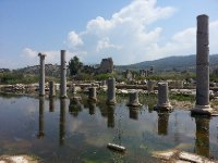 Patara - damaged by a severe earthquake in 141 AD.
