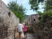 Exploring the Ghost Town of Karymlassos.