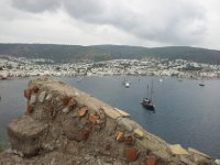 The port of Bodrum taken from the Castle of St. Peter.