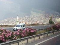 The city of Izmir - population 4 million.