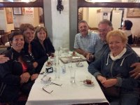 The Last Supper - us 6 travellers - our last night in Turkey.