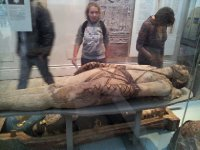 I'm fascinated by Mummies!  Here is another one - the fingers and toes were individually wrapped.