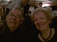 Red and Anne at the performance of Les Miserables - in it's 28th year.