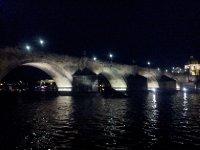 The Charles Bridge at night - Prague.