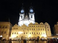 Straight from a fairy tale - the magical Tyn Church - Old Town Square - Prague.
