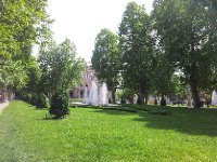 A lovely park we found on a walk through Zagreb.