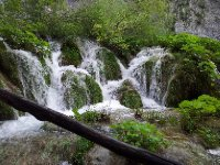 Amazing waterfalls - Plitvice Lakes National Park - Croatia.