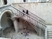 Inside the Rector's Palace - Dubrovnik Old City.