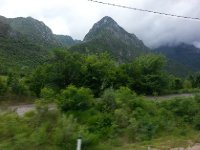 There's nothing boring about a bus trip when you are looking at this - Bosnia and Herzegovina.