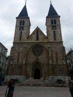 Cathedral in Sarajevo.