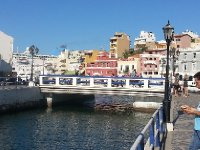 The bridge in the centre of Agios Nikolaus - it features in most tourism photos of the town.