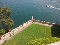 The grounds of the Villa Balbianella - Lake Como.
