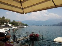 Lunch on the Lake - at Lenno.