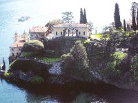 Photo of a photo - this is the Villa Balbianello - Lake Como.
