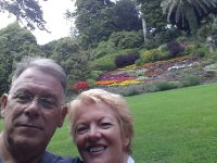 Crooked Selfie - in the Gardens of the Villa Carlotta.