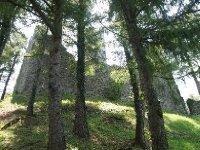 The Vezio Castle - high above Varenna.